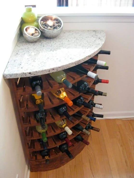 مدل قفسه نوشیدنی