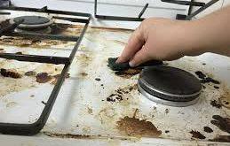 بهترین روش تمیز کردن اجاق گاز