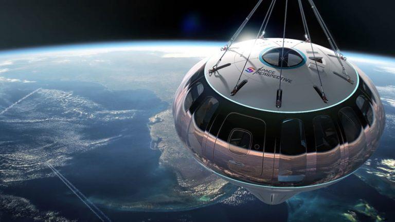 سفر به مرز فضا با بالون های لوکس
