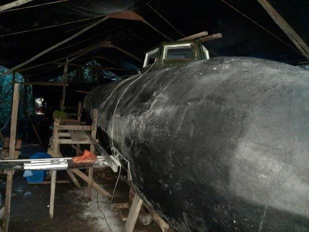 کشف زیردریایی پیشرفته کارتل های مواد مخدر در جنگل های کلمبیا