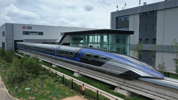 سریع ترین قطار گلوله ای جهان با سرعت 600 کیلومتر