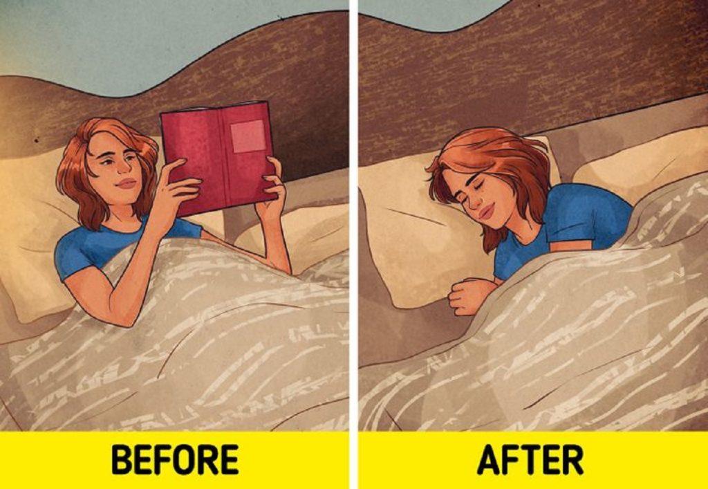 عادات نادرست خواب
